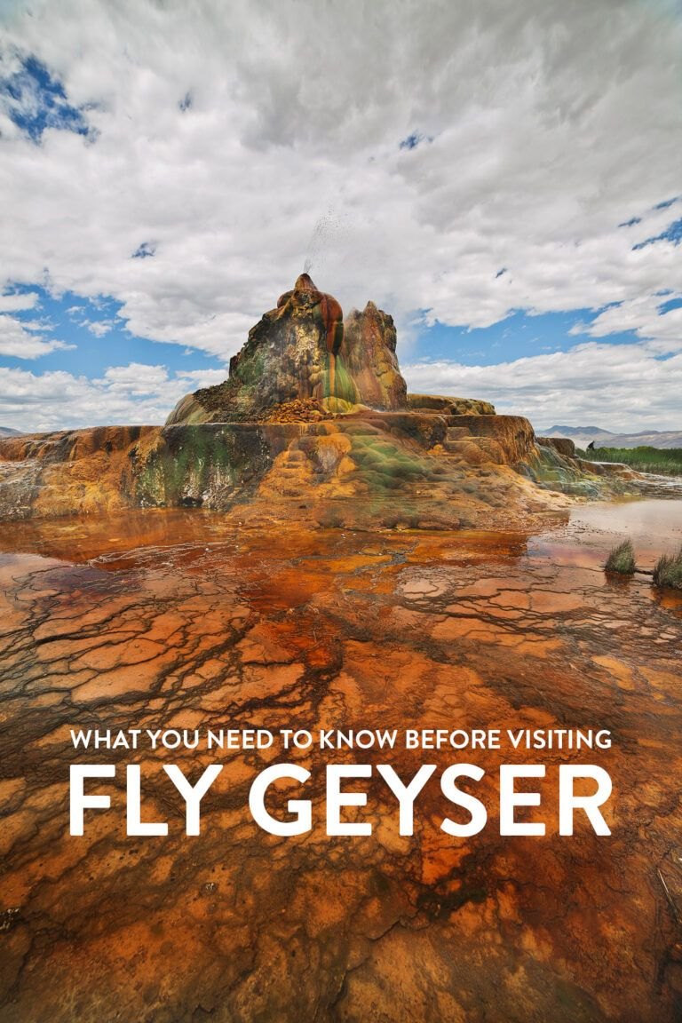 Fly Geyser Nevada - What You Need to Know Before You Go