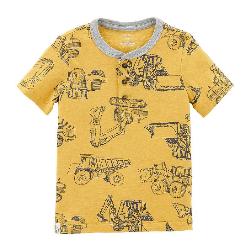 4c61920a Carter's Short Sleeve Round Neck T-Shirt-Toddler Boys | Products ...