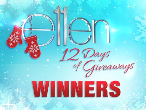 Ellens 12 days of christmas giveaways 2019