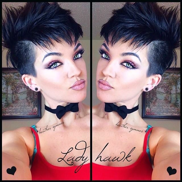 Image result for womens short haircuts with shaved sides ...