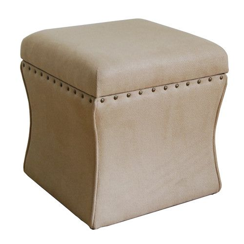 Two In Front Of The Bed Found It At Wayfair Cinch Upholstered Storage Cube Ottoman