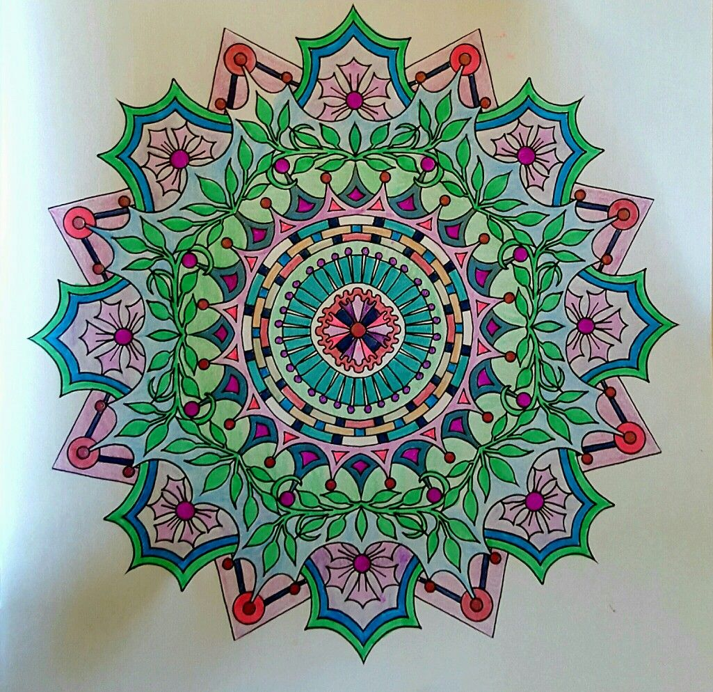 Pin by Elaine Martínez on Coloring pages Mandala art