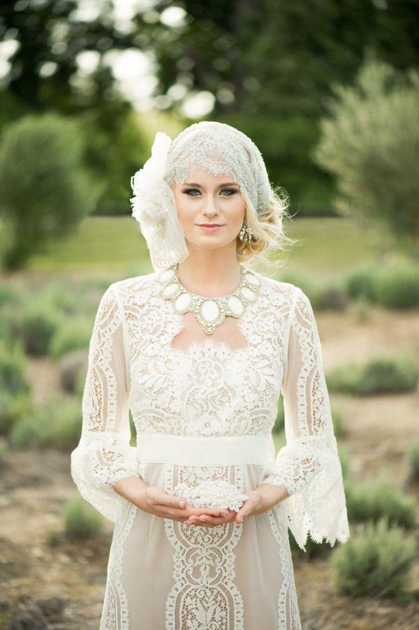 lovely vintage bride