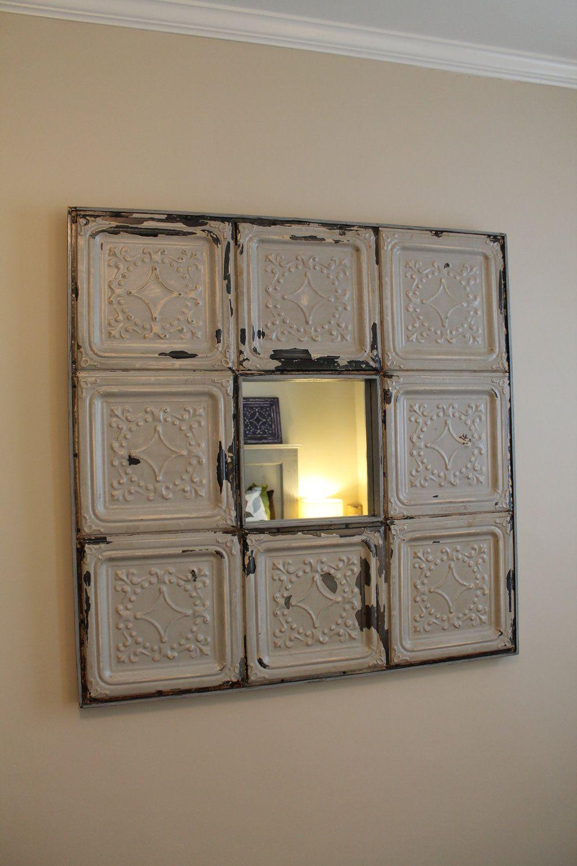 Ceiling · tin tile mirrors