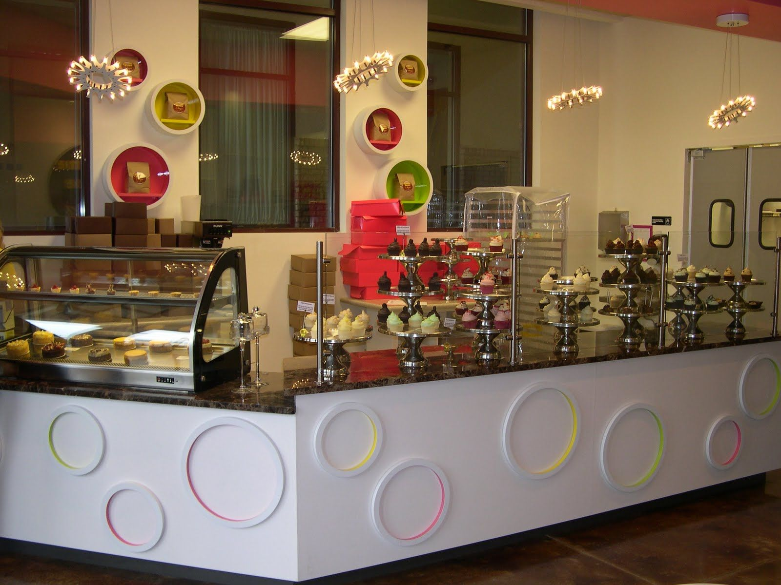 Gimme Some Suga Bakery Bar. Lights By Christopher Moulder. Interior Design  And Furniture Design