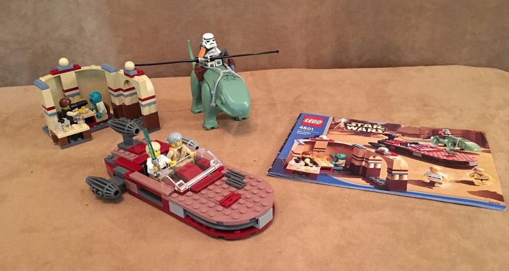 4501 Lego Star Wars Complete Mos Eisley Cantina Instruction Book
