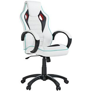 Awe Inspiring Buy X Rocker Office Gaming Chair White At Argos Co Uk Uwap Interior Chair Design Uwaporg