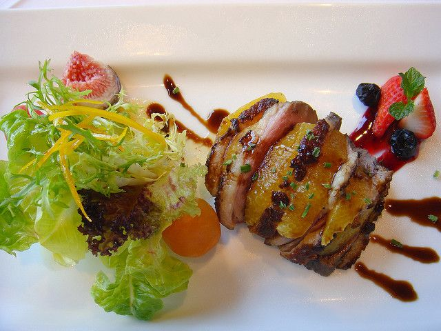Duck Salad 鴨胸肉沙拉 | In JOYCE EAST restaurant | Jax Tang | Flickr