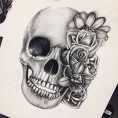 calaveras con rosas  CALAVERAS con rosas  Pinterest  Calaveras