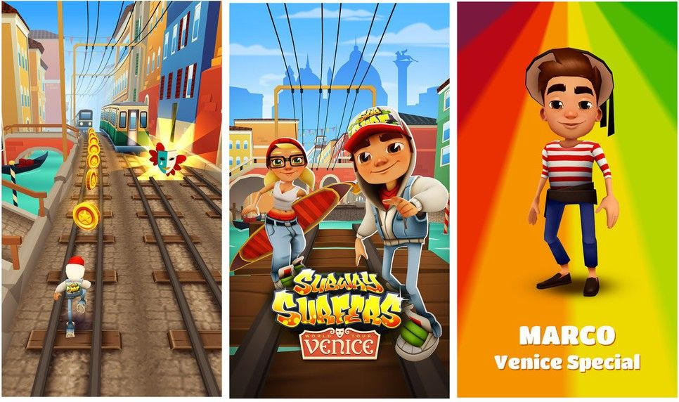 Subway Surfers Venice 1 40 0 MOD APK for Android (Unlimited