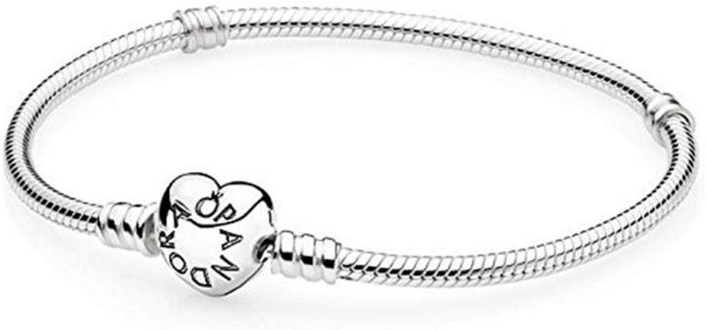 Amazon.com: Pandora Women's Bracelet Sterling Silver ref: 590719 ...