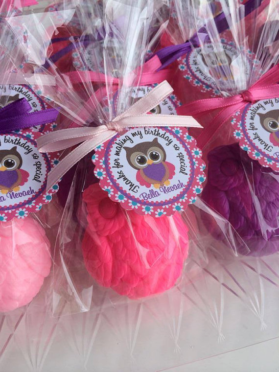 10 Owl Soap Favors Baby Shower Owl Favors 1st Birthday Party