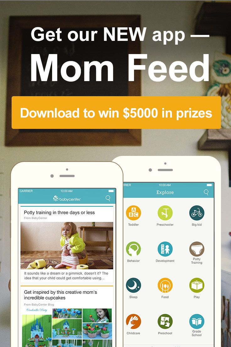 So excited to announce BabyCenter's newest app Mom Feed