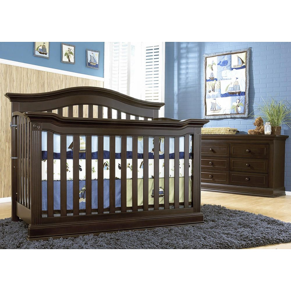 Baby Cache Montana Crib in Espresso. Our crib for the little one ...