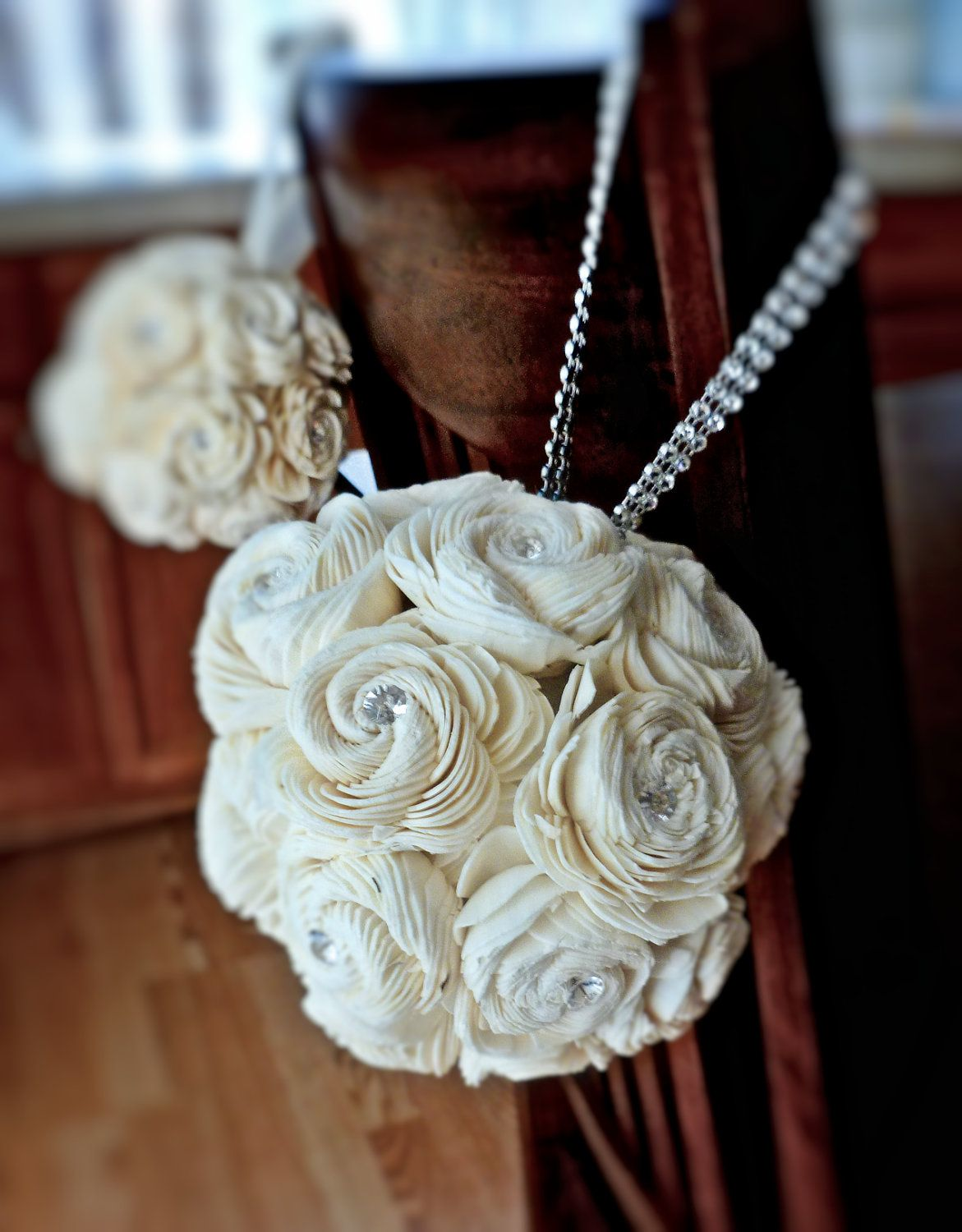 Small Kissing Ball Flower Girl Pomander Centerpieces Sola Flowers