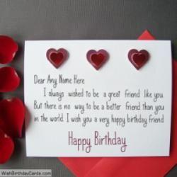 Pleasant Happy Birthday Wishes Cards For Friends With Name Happy Birthday Funny Birthday Cards Online Fluifree Goldxyz