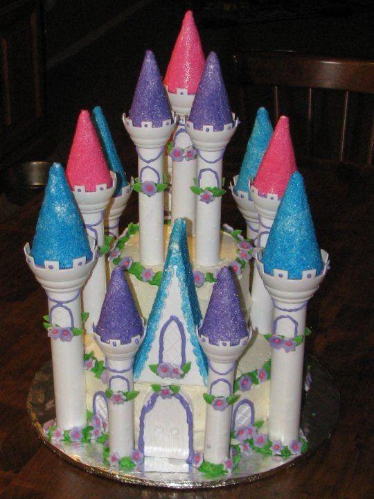 Cinderella Castle Cake Cakes Pinterest Cake Castle Birthday