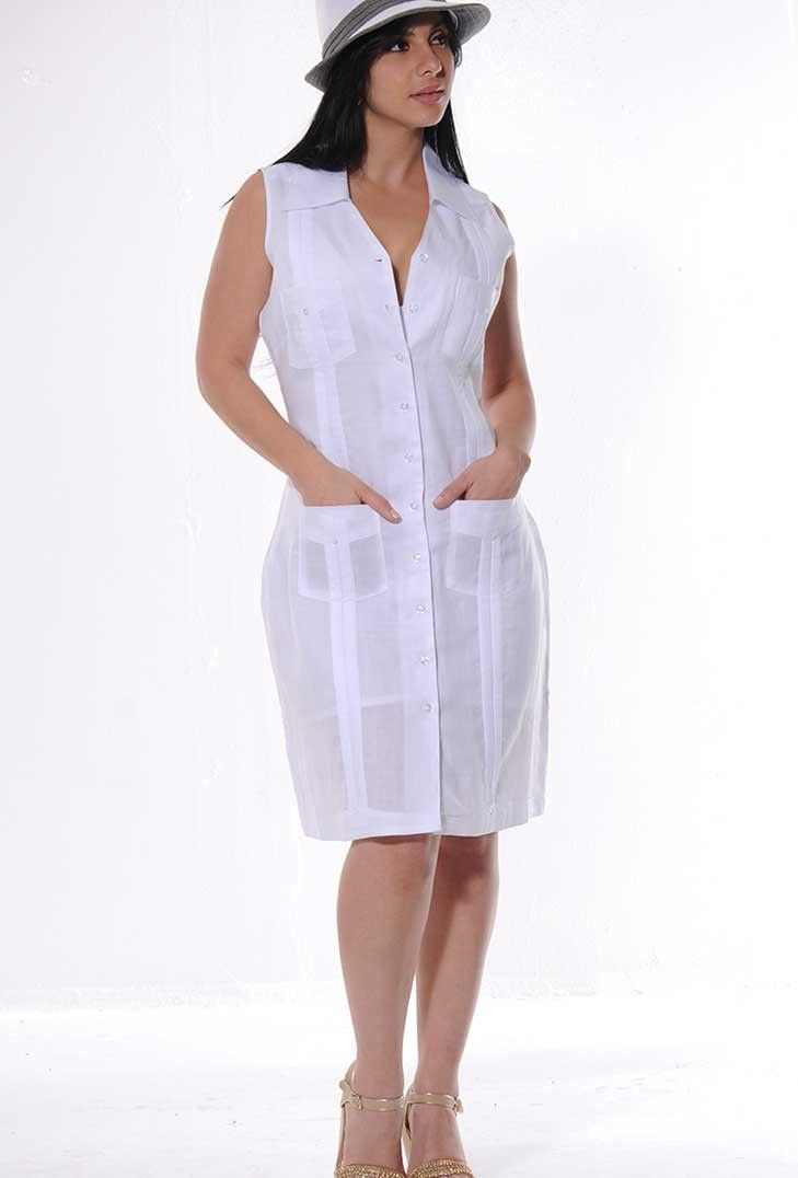 this guayabera dress is about to become a summer staple in