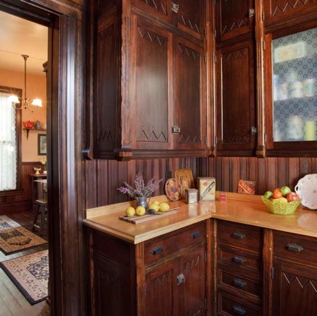 21 Victorian Style Kitchen Design And Ideas: Pantry Designs: Ideas For Every Era