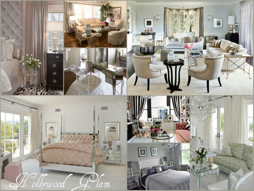 painting of antique old hollywood glamour decor | interior design