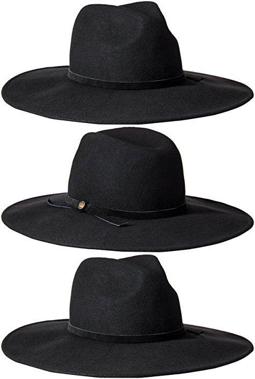 8dee6c61326 Goorin Bros. Women s Queen of Knives Wool Felt Wide Brim Fedora Hat ...