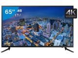 """Smart TV LED 65"""" Samsung 4k/Ultra HD Gamer - UN65JU6000 Conversor Digital Wi-Fi 3 HDMI 2 USB"""