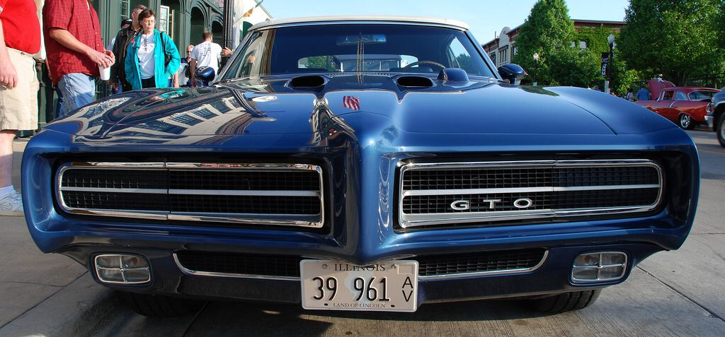 1969 Pontiac GTO - Front