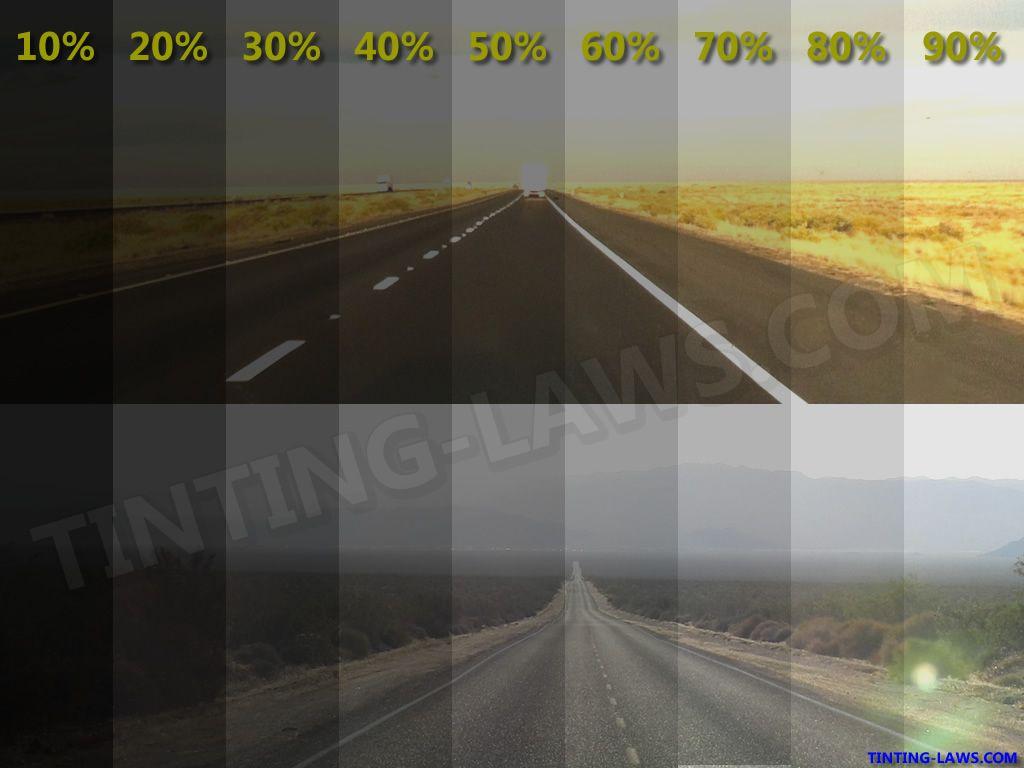 Window Tint Levels Chart