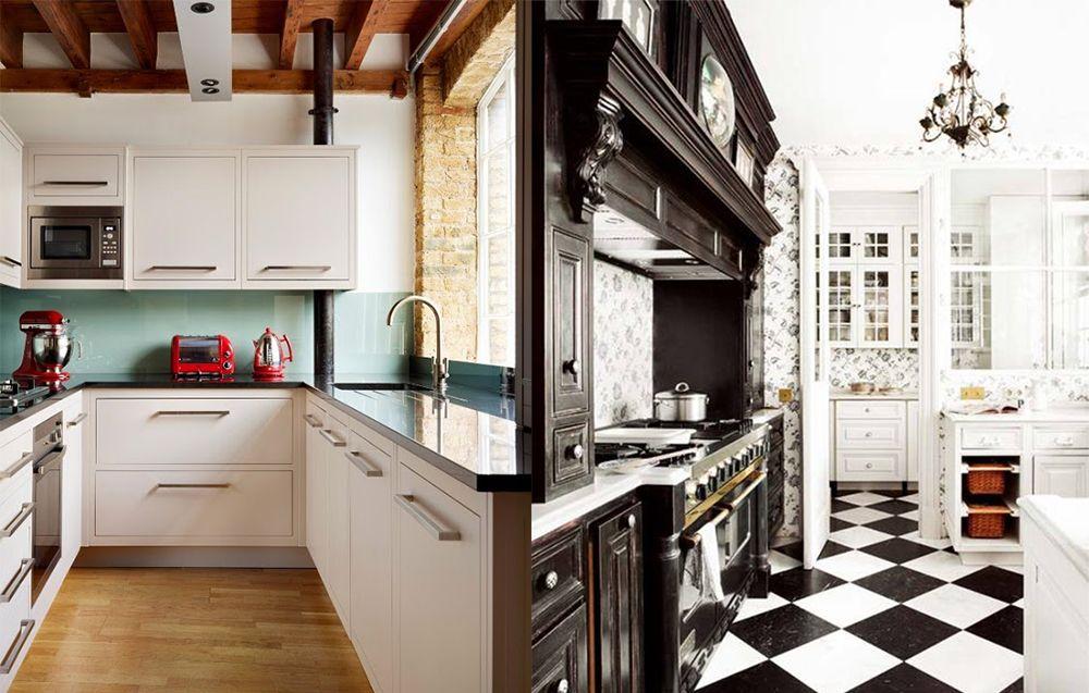 Modernes Küchendesign: Englische Küchendesignideen