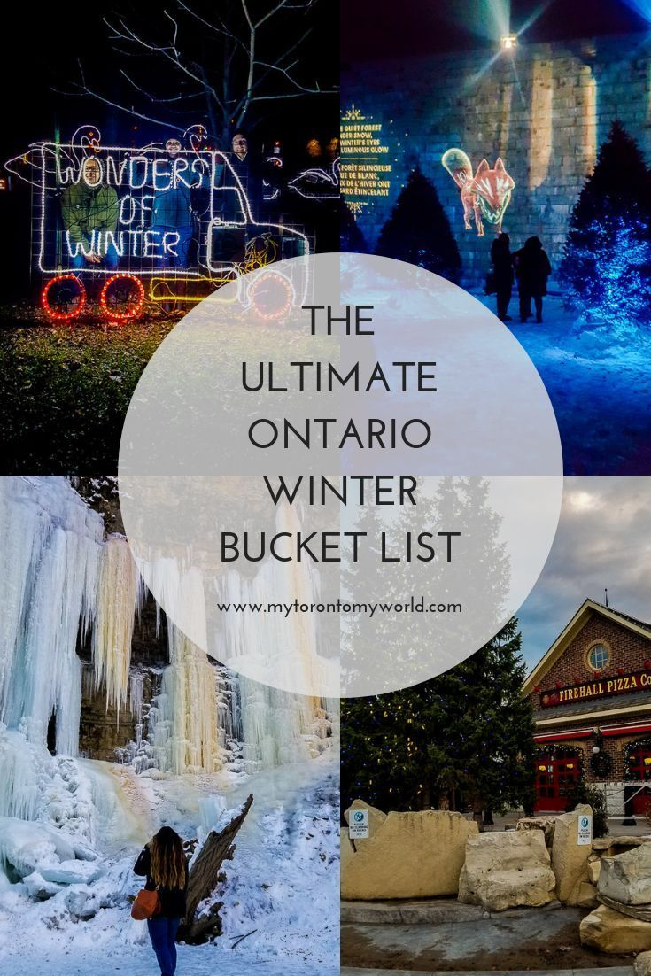 16 Things To Do In Ontario In Winter [Winter 2020