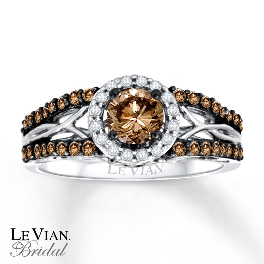 levian chocolate diamonds ct tw engagement ring gold merry christmas to - Chocolate Diamond Wedding Ring
