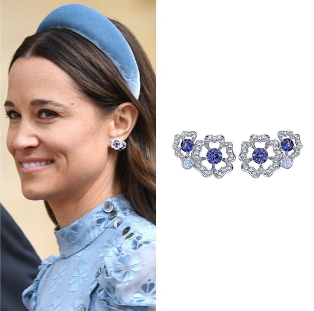 Petal Ear Climbers Princess Kate Style Pippa Middleton Style