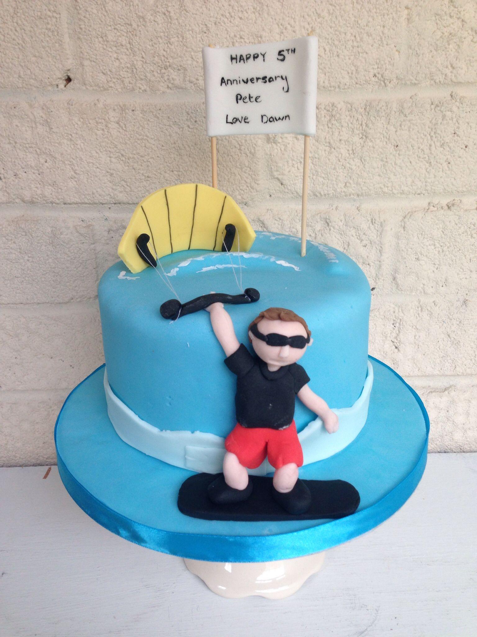 Kite Surfer Cake