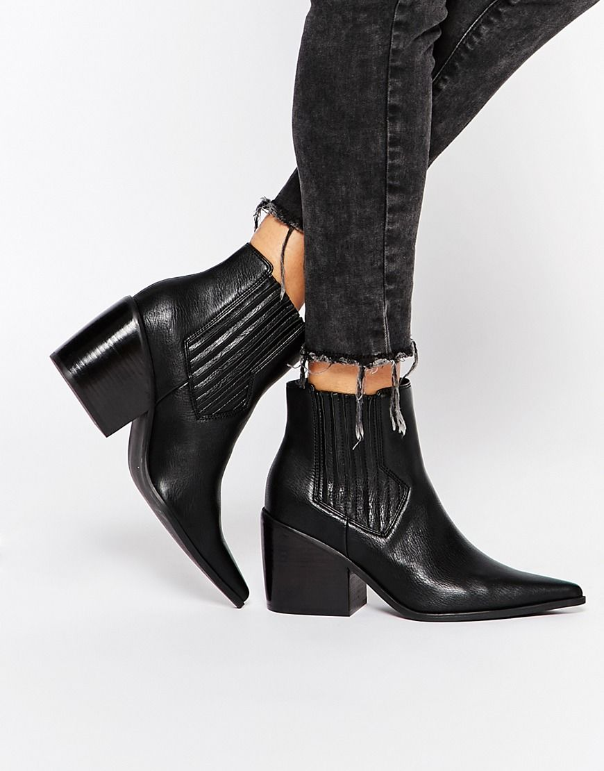 ASOS ELSA Pointed Ankle Boots | Lost Sole. | Pinterest | For women ...
