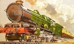 Malcolm Guest hoarded nostalgic souvenirs relating to the golden age of steam during the famous Dr Beeching railway cuts in 1960.