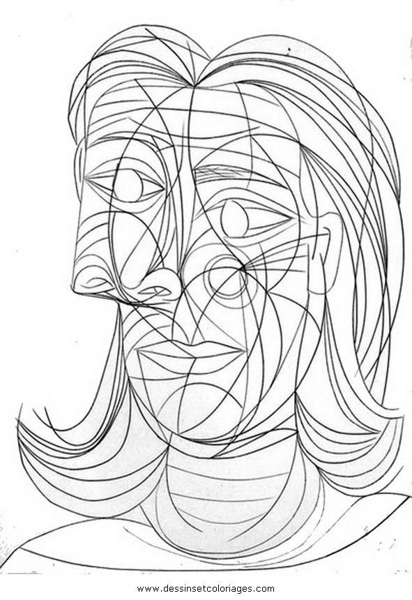 Pablo Picasso Obras De Picasso Pinturas Para Colorir E