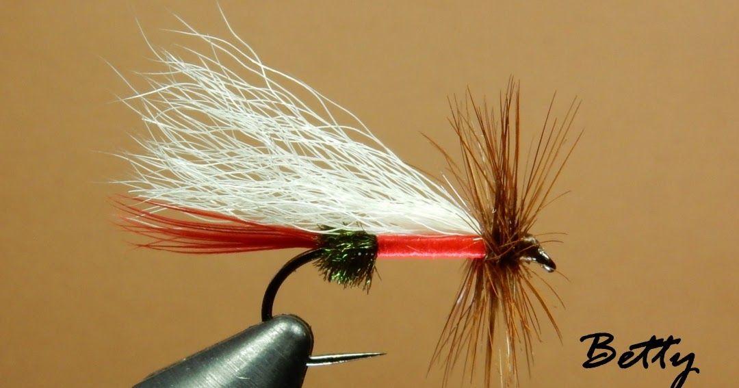 DRY FLY FISHING FLIES 6 X SIZE16 FLIES ROYAL COACHMAN