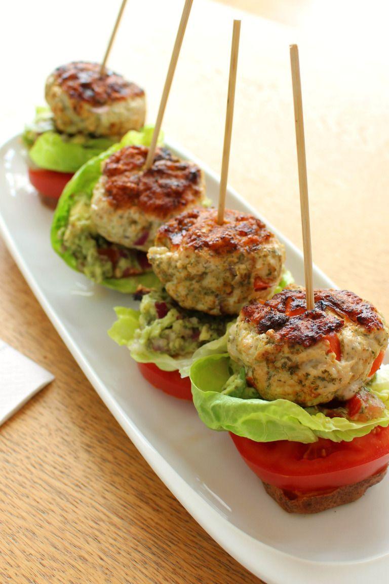 Turkey Burger sliders   Whole 30 recipes, Burger sliders ...