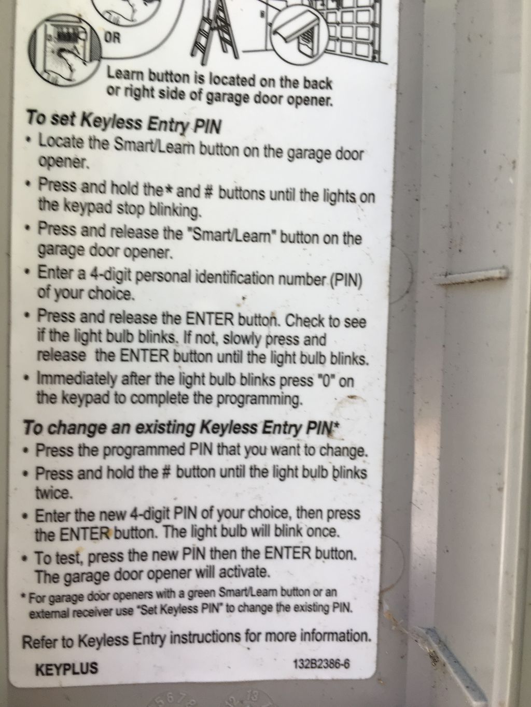 Pin By Kathy Shawhan On Di Garage Garage Door Opener Learning Storage Organization