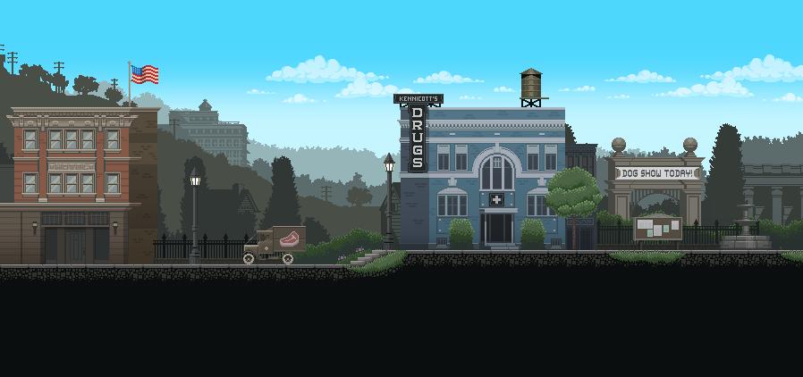 Image result for pixel art game city