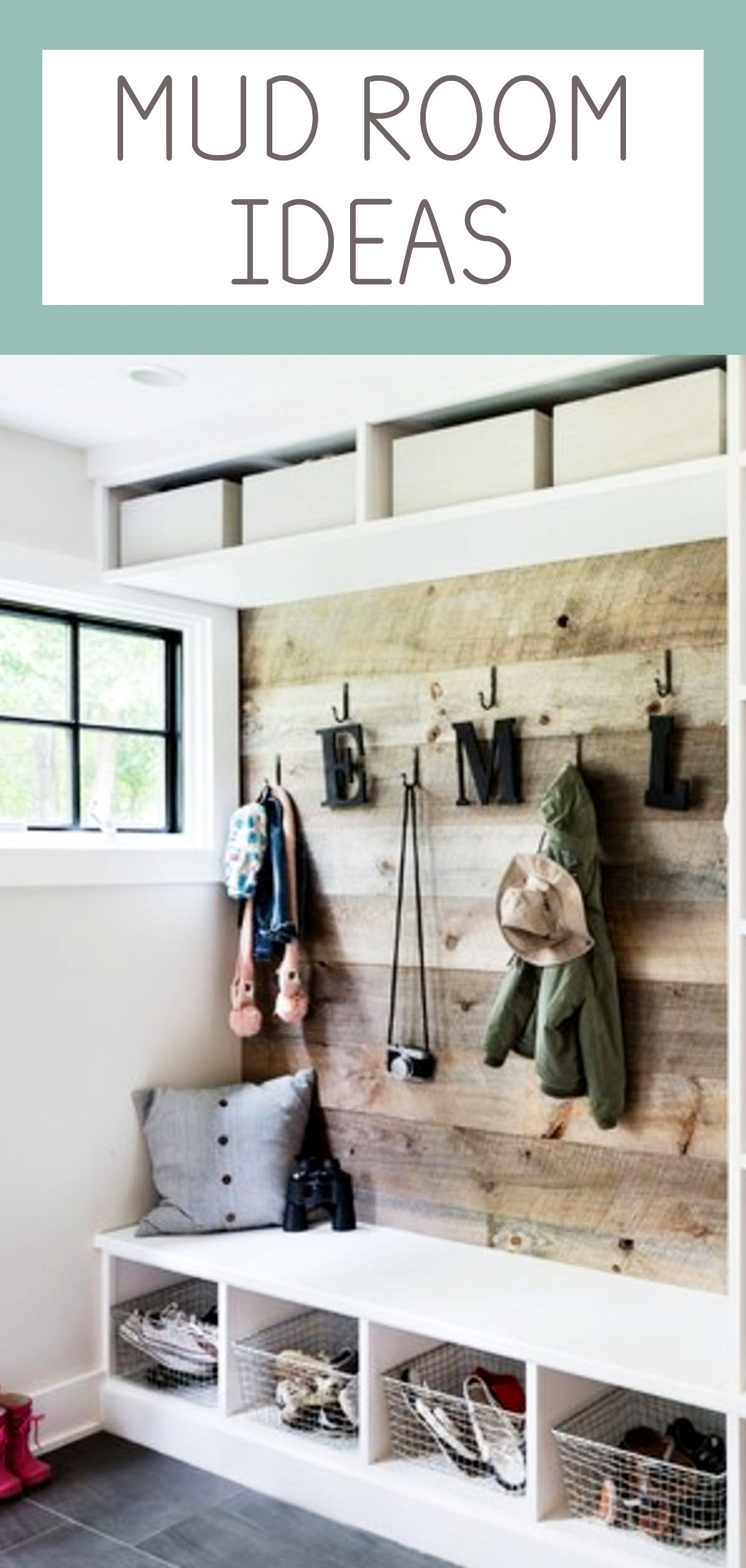 {Mudroom Pictures} Diy Farmhouse Mudroom Ideas  June 2018