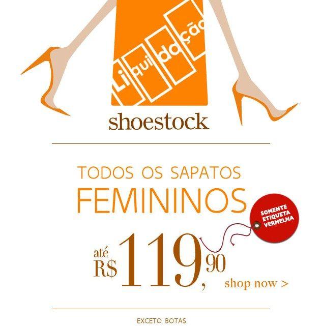 Liquidação Shoestock