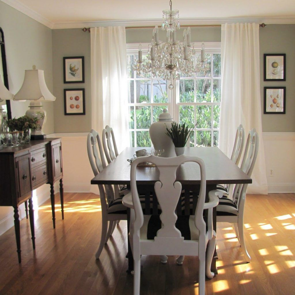 High Quality Beautiful Dining Room Paint Color Ideas With Enchanting Dining Room  Painting Ideas Dining Room Paint Colors Dark Furniture Wooden Dining Table  White Chairs ...