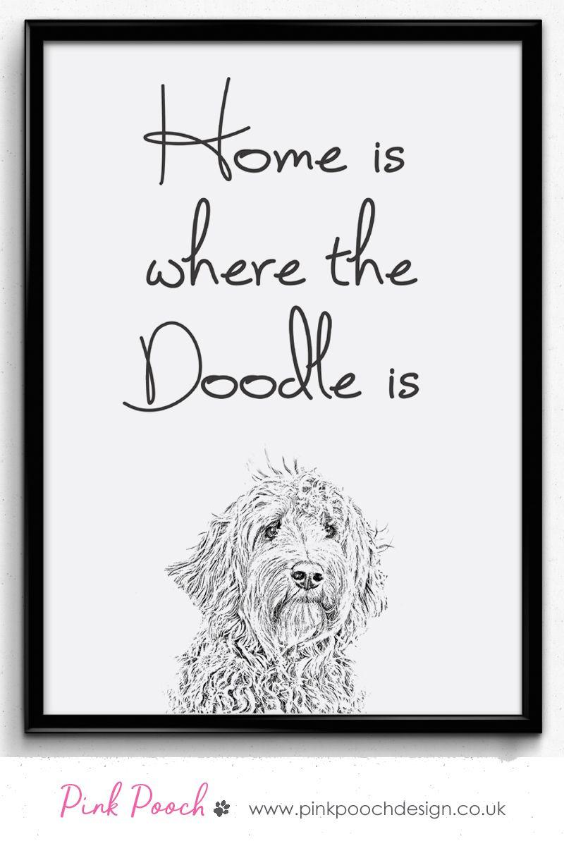 Goldendoodle Wall Art Goldendoodle Print Labradoodle Gift Home