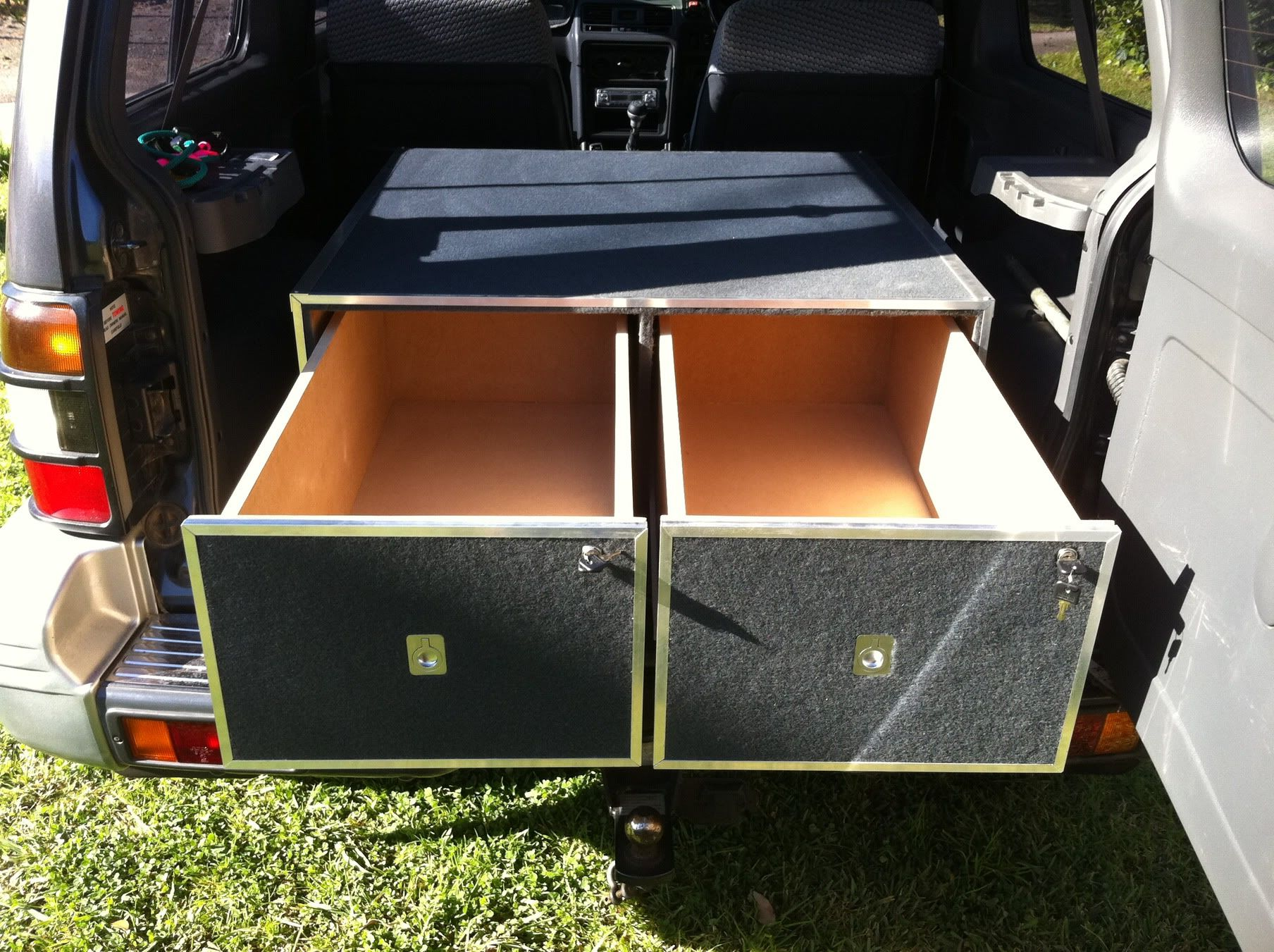 Diy Swb Gen 2 Drawers Pajero 4wd Club Of Victoria Public Forum