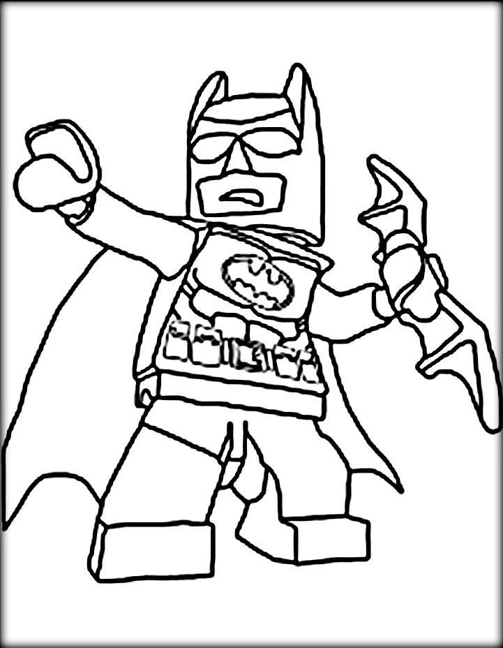 Free Coloring Pages Lego City