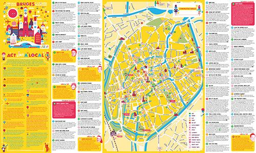 Download Bruges City Map City Maps USE IT Pinterest Bruges