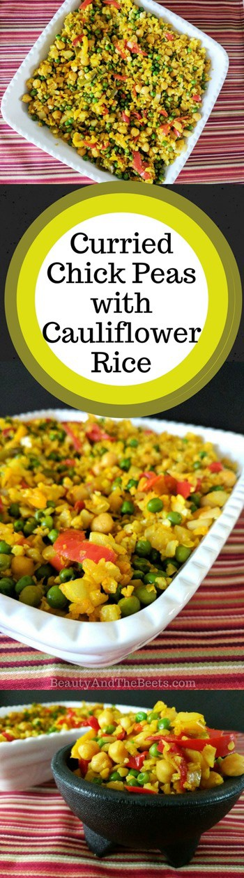 Curried Chickpeas with Cauliflower Rice & a Publix Giveaway