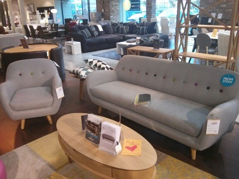 Barker And Stonehouse Tula 3 Seater And 2 Seater Sofa And Chair. £699 And