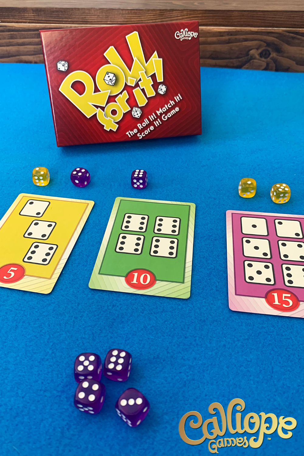 Pin on Roll for It! Dice Game